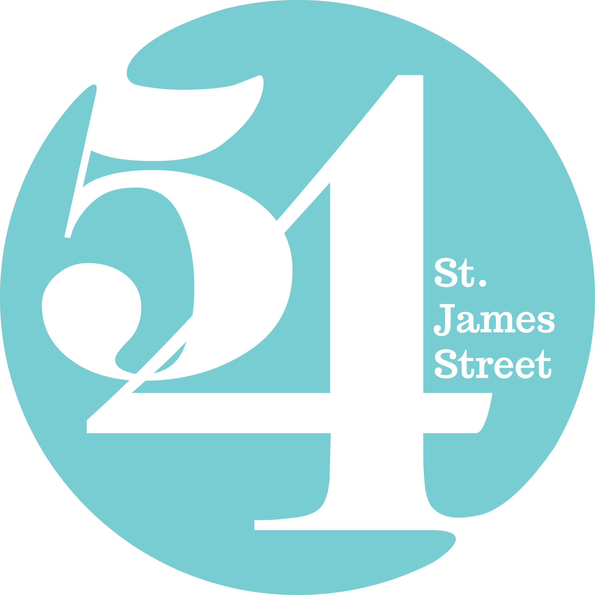 54 St James Street Logo