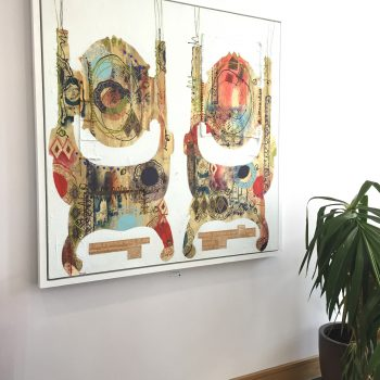 """In situ, """"His and His"""", Joanne Thompson"""