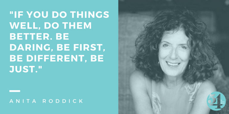 Celebrating Great Historic Women: Anita Roddick