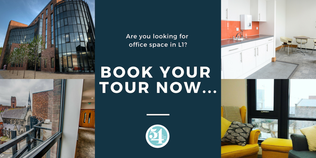 Looking for office space in Liverpool? BOOK your 54 tour today