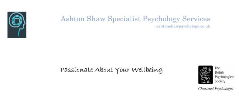 54 St James Street 5 Minutes With… Ashton Shaw Specialist Psychology Services