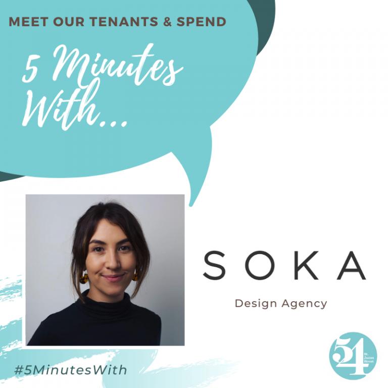 5 minutes with… SOKA Design Agency