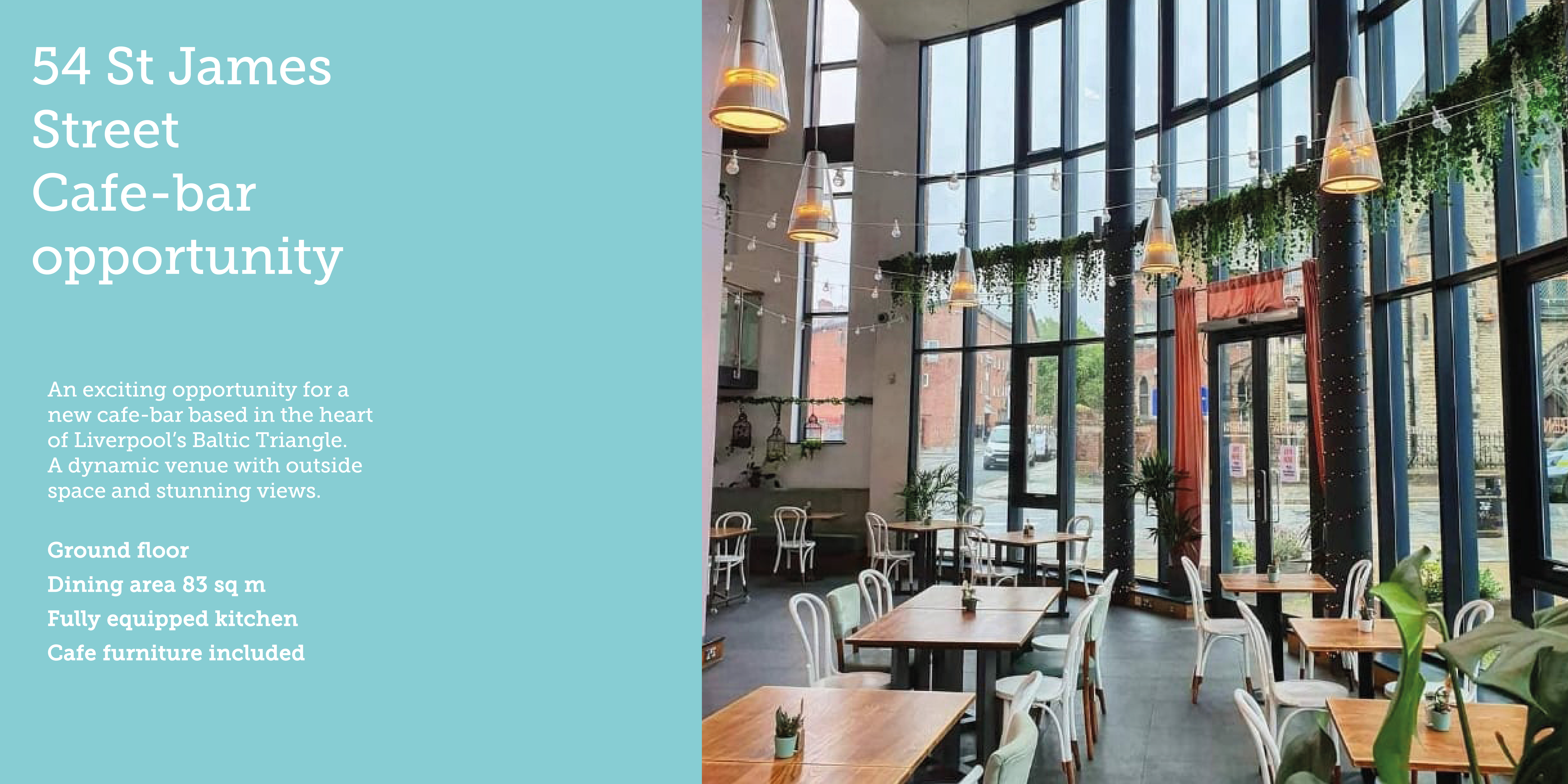 cafe bar opportunity Baltic Triangle Liverpool