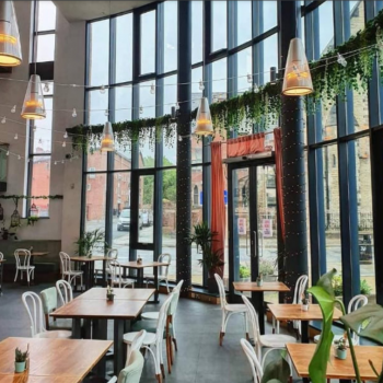 Cafe bar space to rent in Liverpool's Baltic Triangle