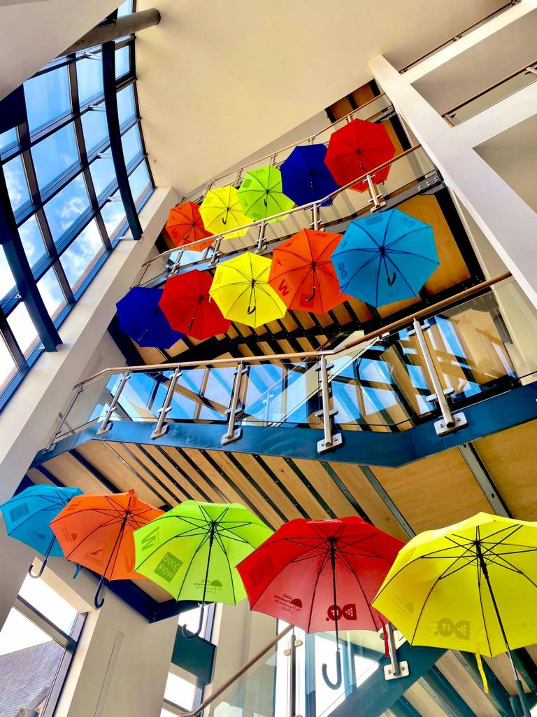Brollies In The Baltic – ADHD Foundation Unveils Latest Umbrella Project Installation